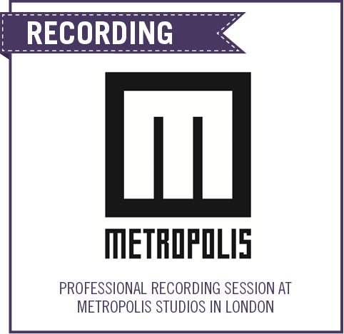 Vocal Mastery: Win a Professional Recording Session at the Metropolis Studios in London